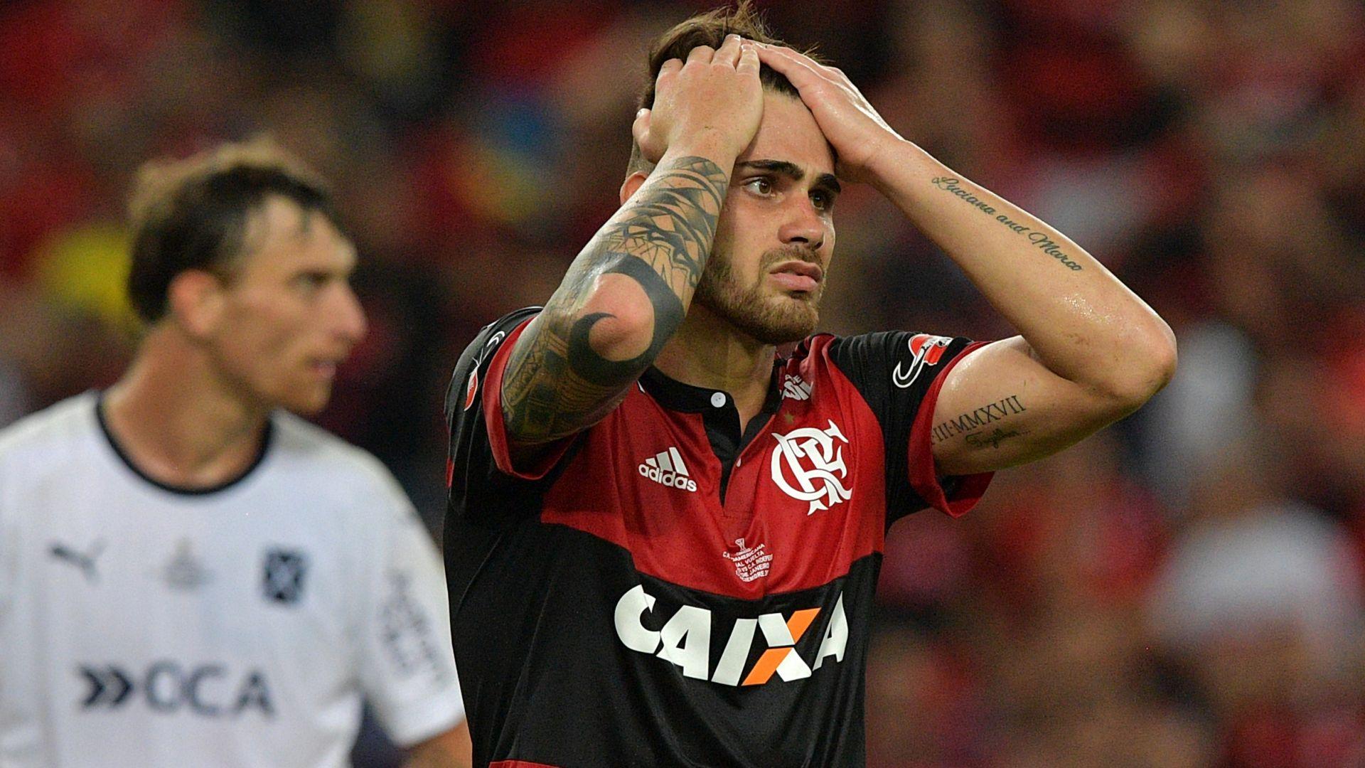 Felipe Vizeu Flamengo Independiente Copa Sudamericana 13122017