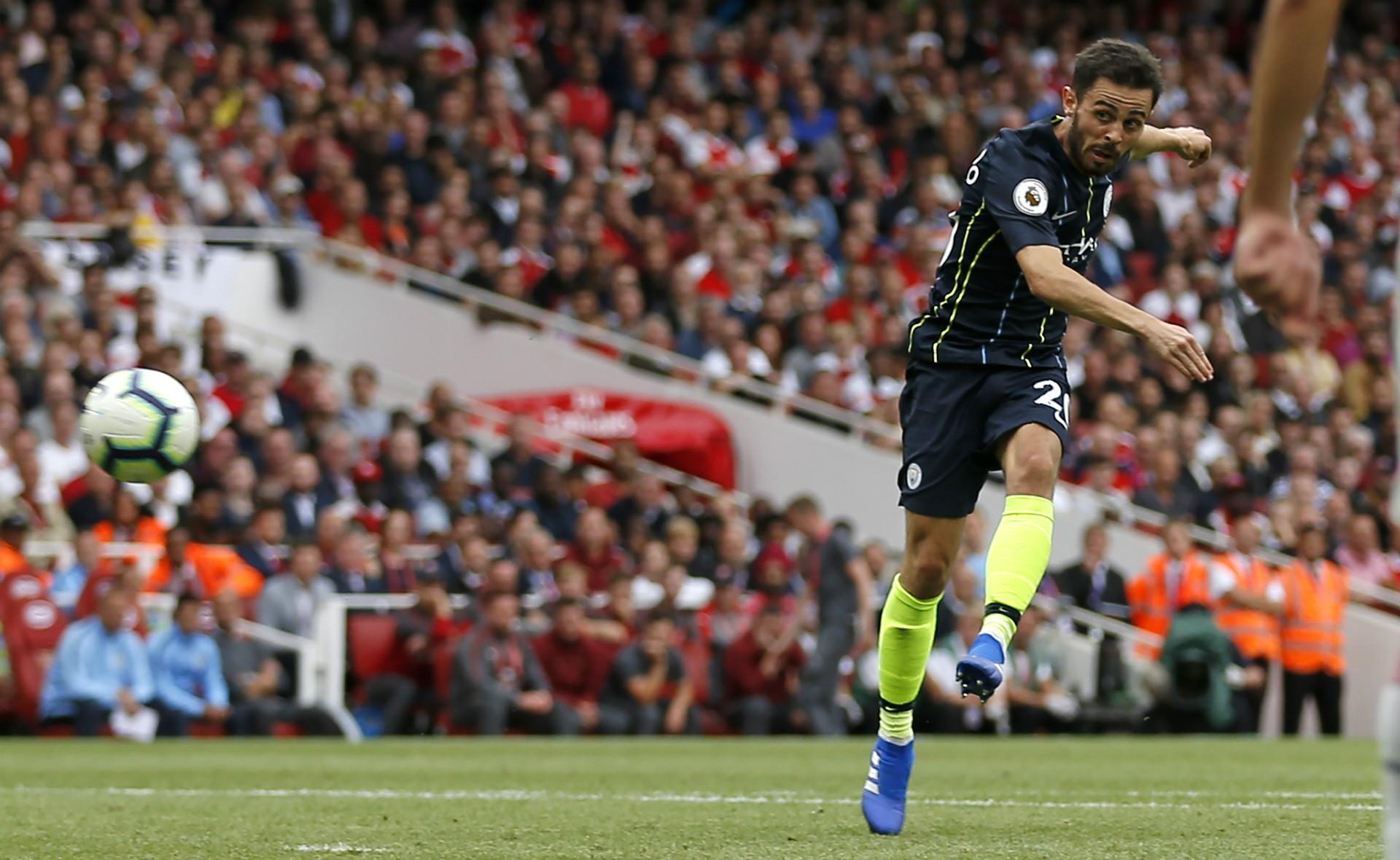 Bernardo Silva Arsenal Manchester City Premier League 2018-19