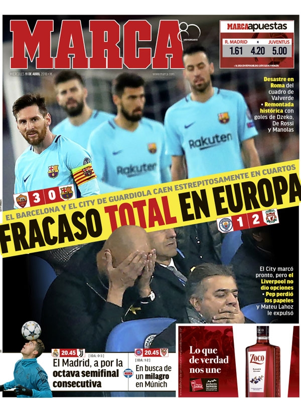Marca front page 11/04