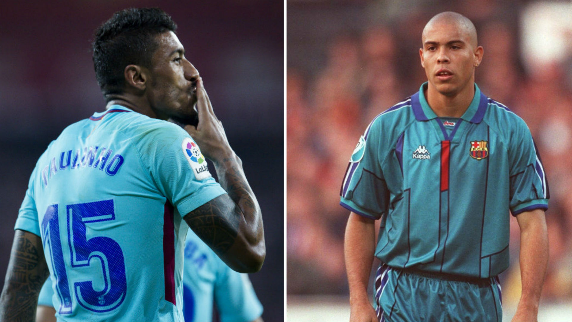 Ronaldo taught Paulinho 'a lot' as Brazilian makes his own mark at Barcelona