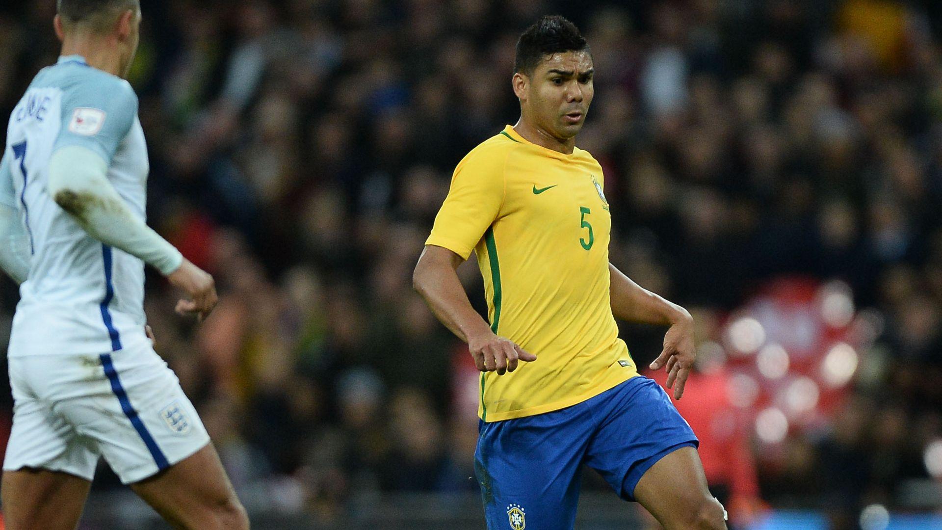 Casemiro England Brazil Friendly 14112017