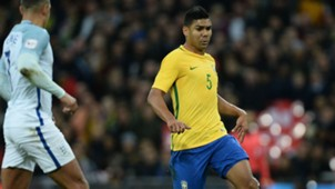 Casemiro England Brazil Friendly 14112017
