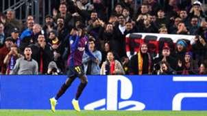 Ousmane Dembele Barcelona Tottenham UCL 11122018