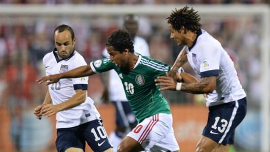 Landon Donovan Gio Dos Santos USA Mexico 10102013