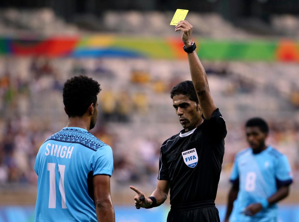 Fahed Al Mirdasi referee