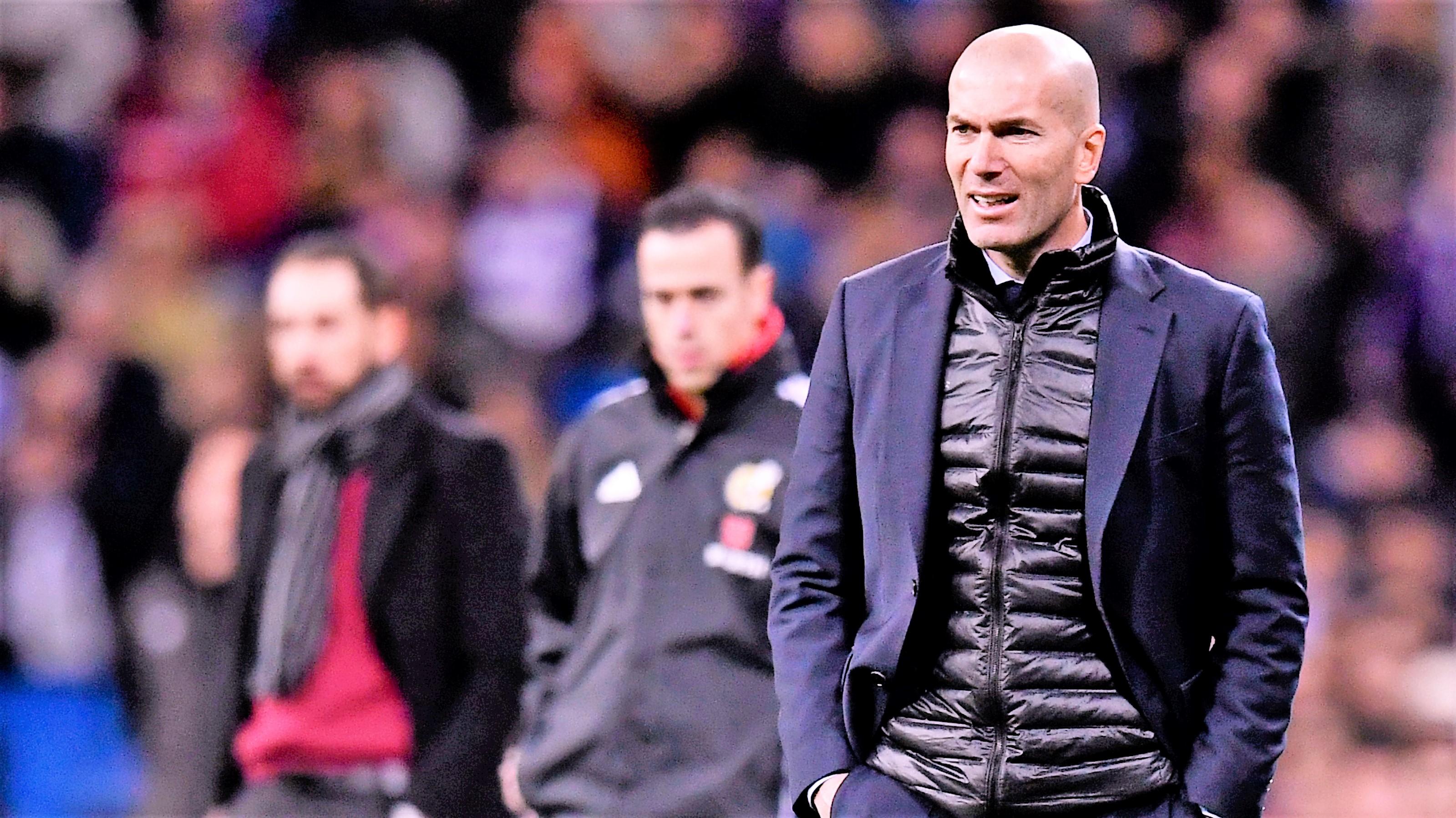 Zinedine Zidane Real Madrid Girona LaLiga 18032018