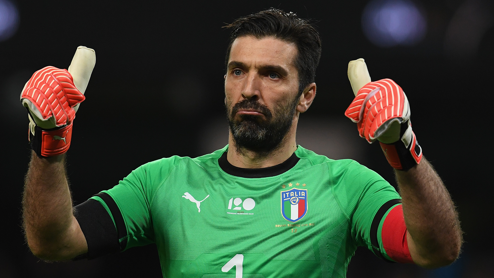 Gianluigi Buffon March 2018 Italy