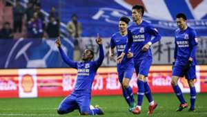 Odion Ighalo continues scoring run as Shanghai Shenhua hold Wuhan Zall