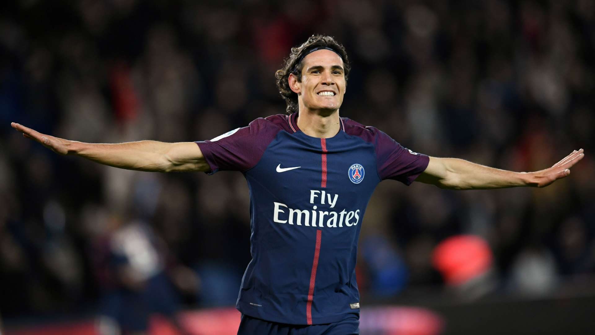 Edinson Cavani Paris Saint-Germain Dijon