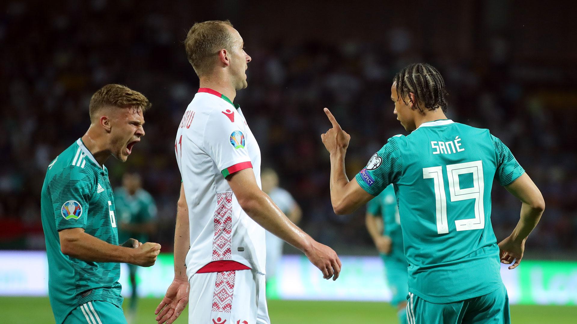 Leroy Sane Deutschland Weißrussland EM-Qualifikation 08062019