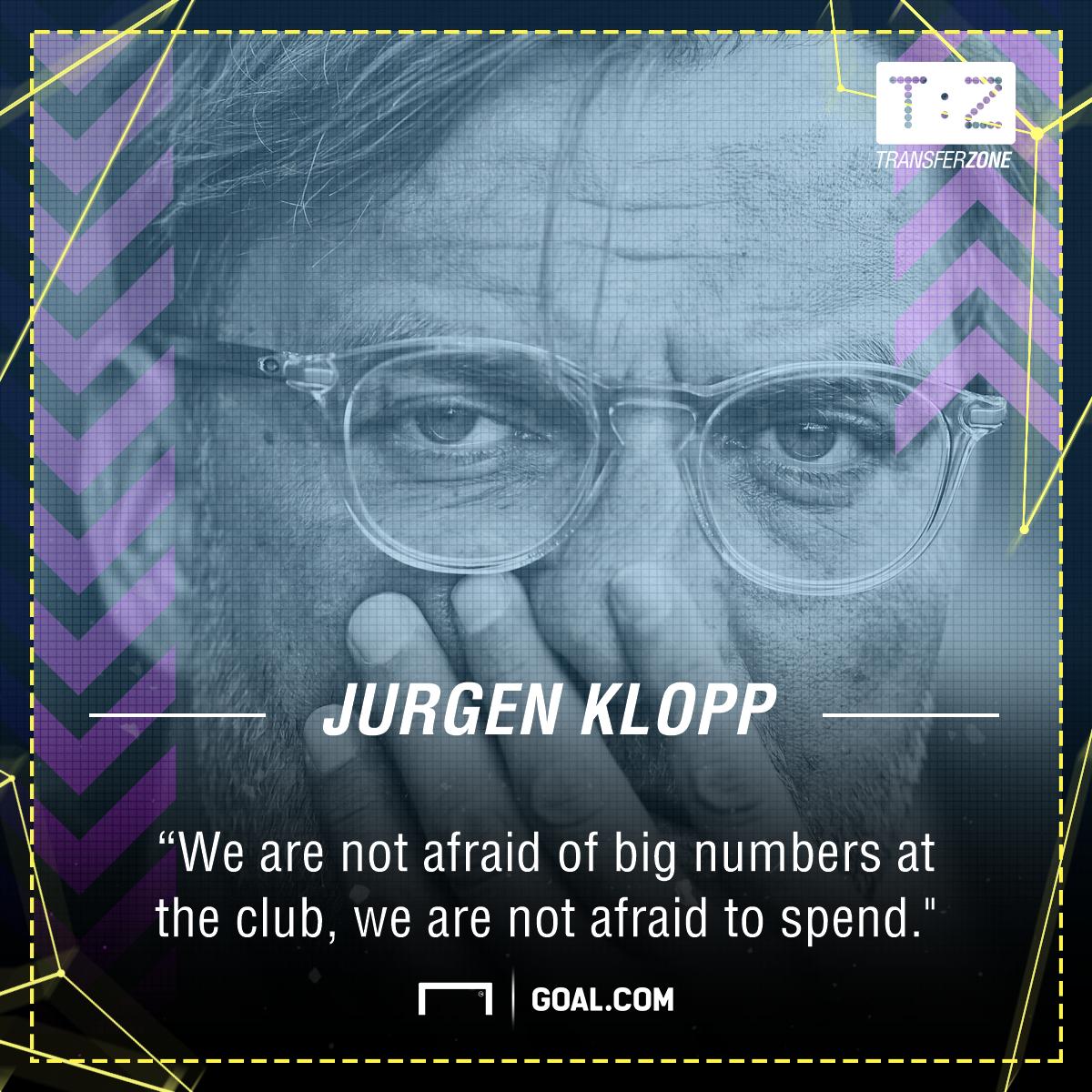 GFX Jurgen Klopp quote