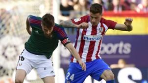 Jose Maria Gimenez Oier Atletico Madrid Osasuna La Liga
