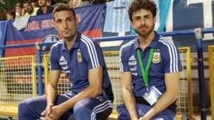 Lionel Scaloni Pablo Aimar Seleccion Argentina 31072018