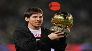 Messi first ballon dor