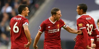 Dejan Lovren Jordan Henderson Joel Matip Liverpool