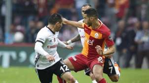 Gary Medel Younes Belhanda Galatasaray Besiktas 4292018