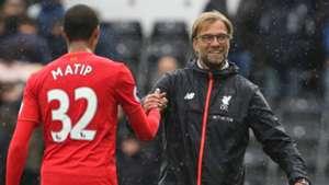 Joel Matip Jurgen Klopp Liverpool Premier League