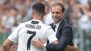 Cristiano Ronaldo, Massimiliano Allegri, Juventus