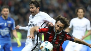 Maxwell Paul Baysse Nice PSG Ligue 1 30042017