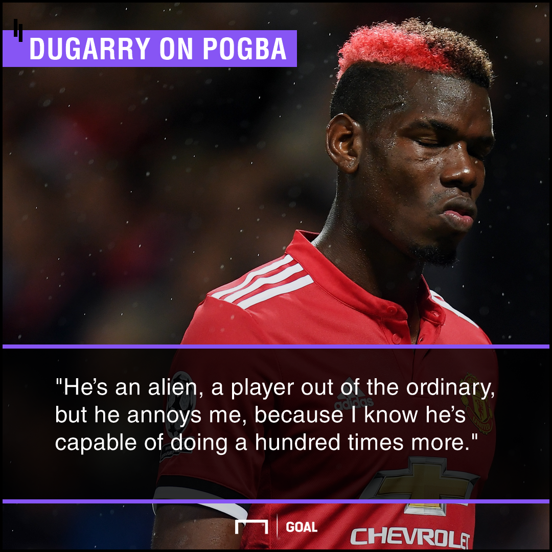 Paul Pogba alien genius capable of more Christophe Dugarry