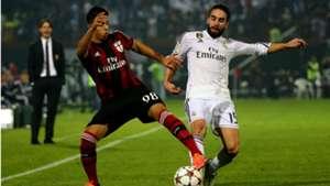 Hachim Mastour AC Milan Real Madrid