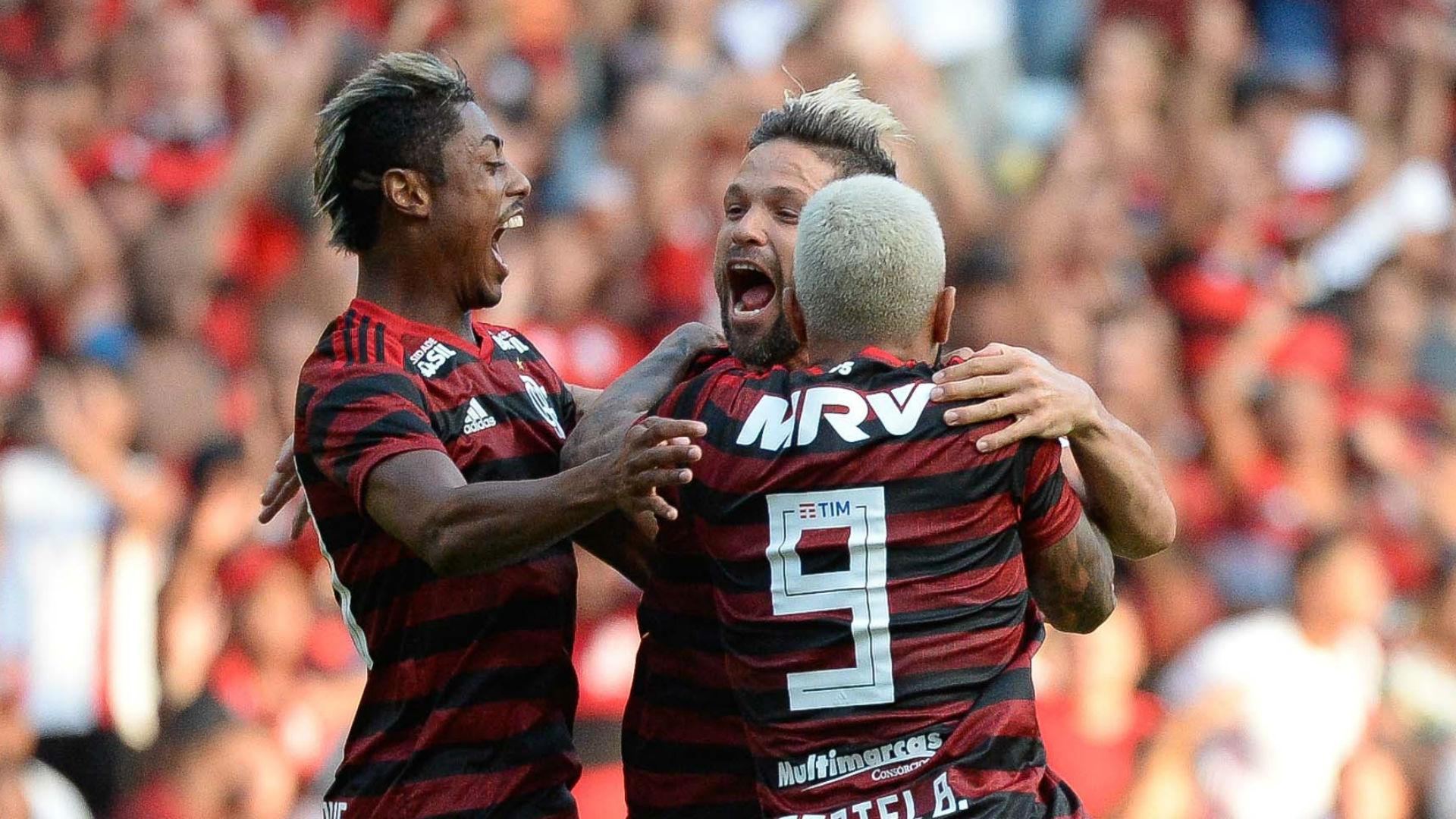 Bruno henrique Gabigol Diego Flamengo Fluminense Carioca 24 03 2019