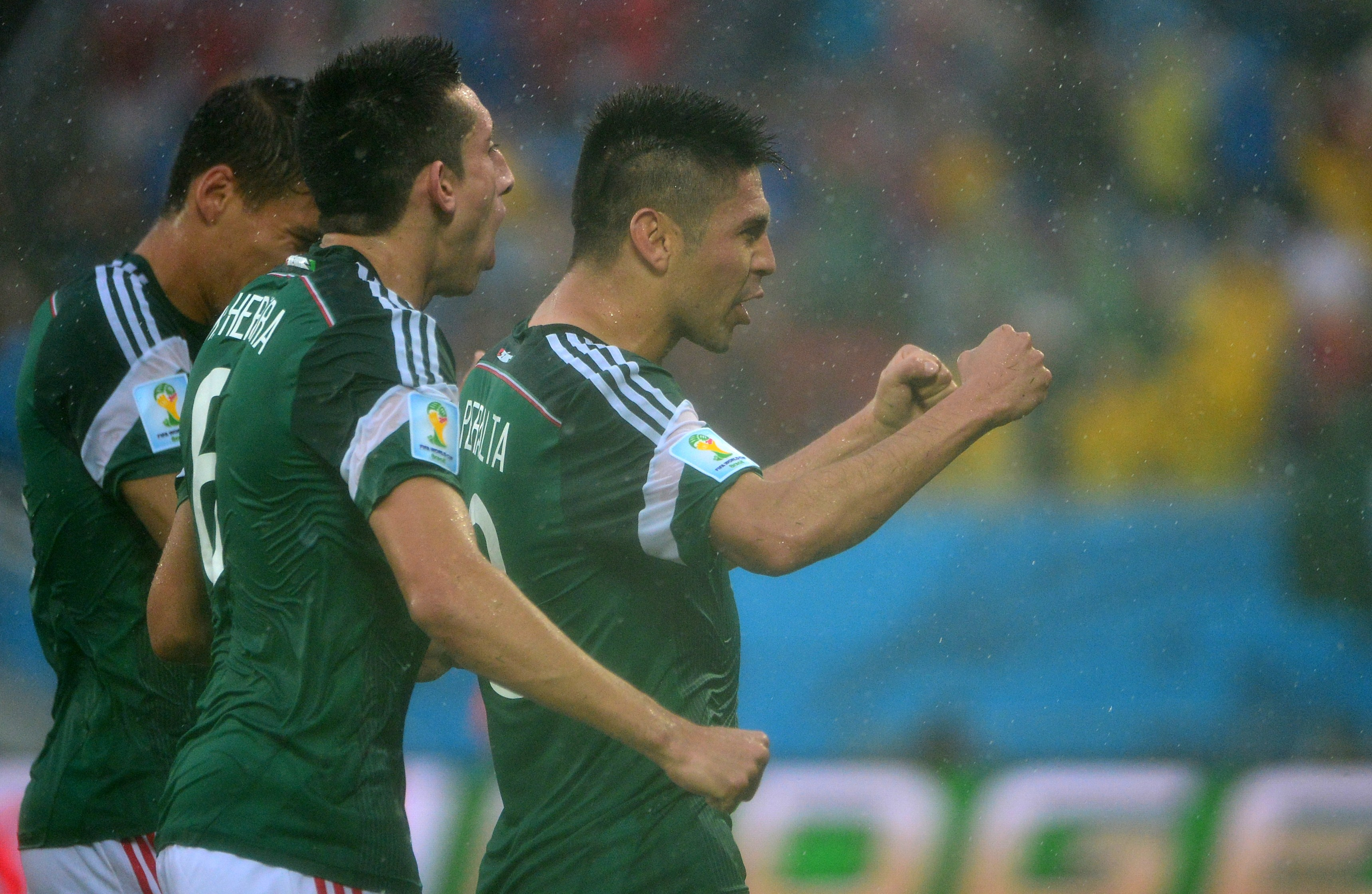 Camerún vs México Brasil 2014