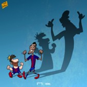 Paulinho Messi Cartoon