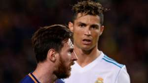 Lionel Messi Cristiano Ronaldo Barcelona Real Madrid LaLiga 06052018