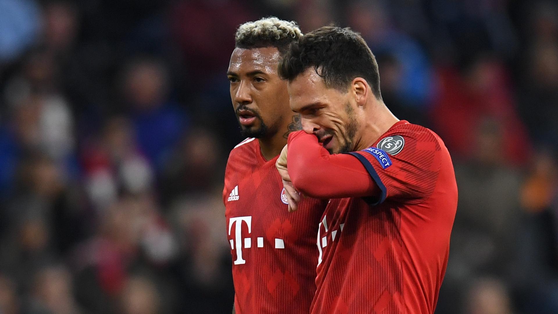 Jerome Boateng Mats Hummels Bayern Munich