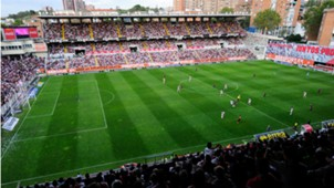Campo de Fútbol de Vallecas, Rayo Vallecano, 10042014