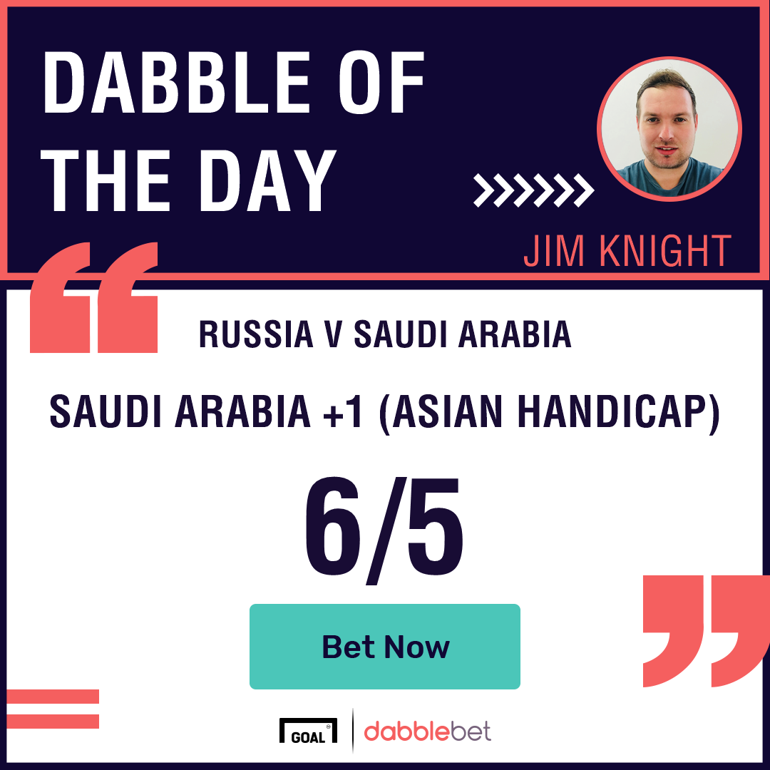Russia v Saudi Arabia Betting Preview