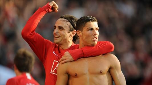 Cristiano Ronaldo Dimitar Berbatov Manchester United