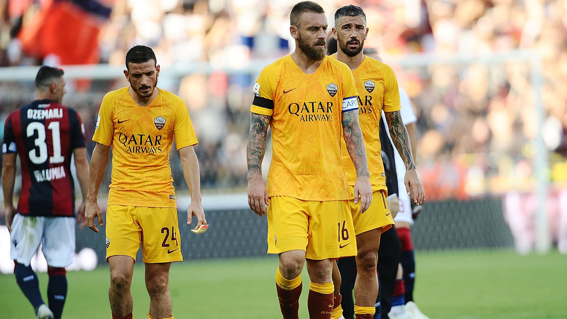 Daniele De Rossi Bologna Roma Serie A