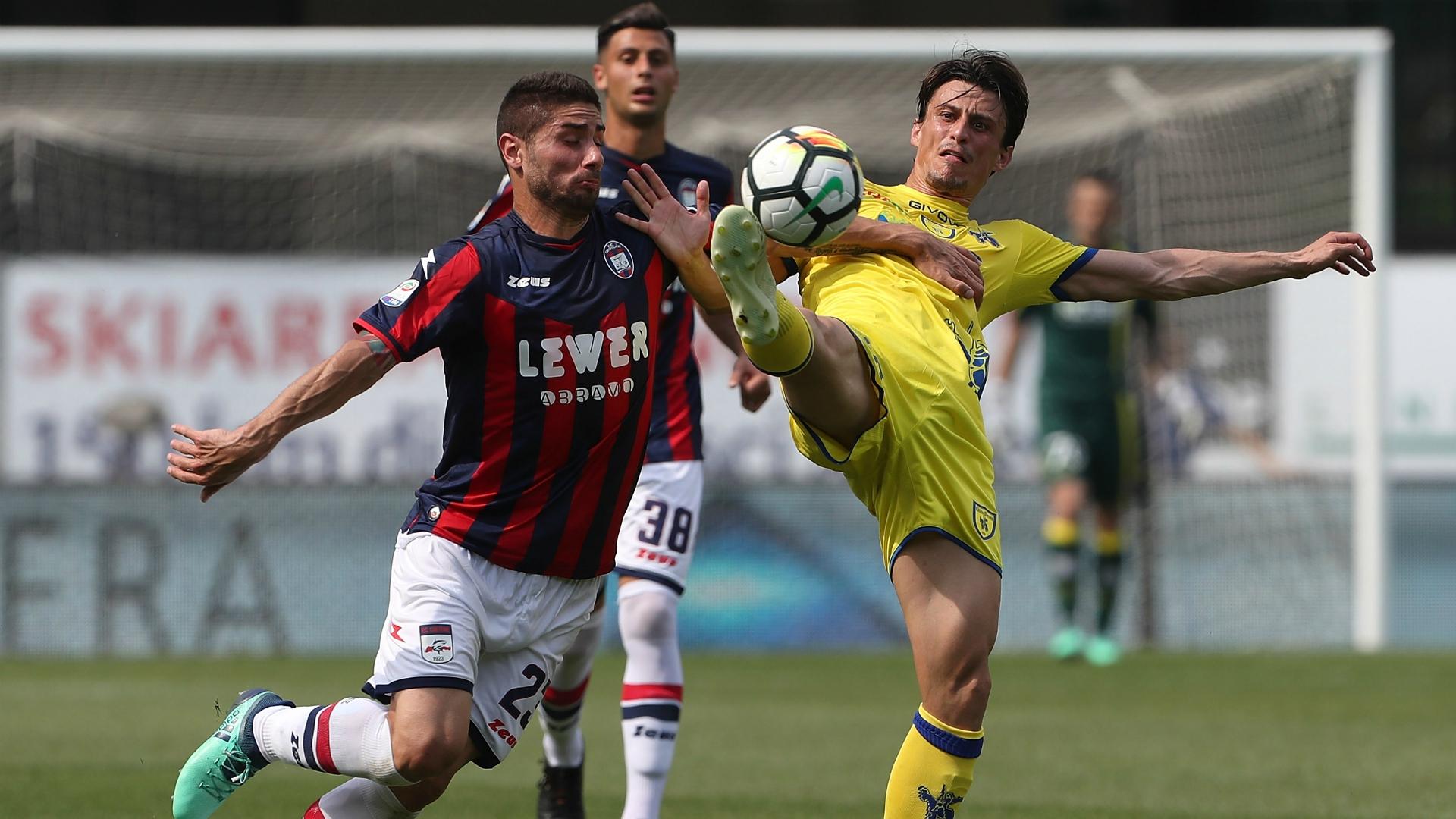 Marco Capuano Roberto Inglese Chievo Crotone Serie A 05062018