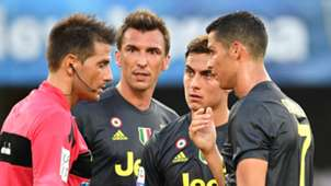 Cristiano Ronaldo Mario Mandzukic Paulo Dybala Juventus