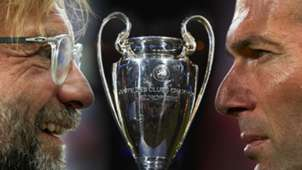 Real Madrid FC Liverpool Zinedine Zidane Jürgen Klopp Champions League Pokal Trophäe