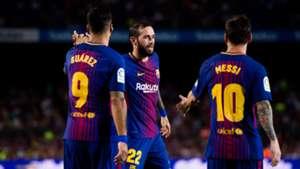 Messi Suarez Aleix Vidal Barcelona