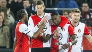 Eljero Elia, Michiel Kramer, Feyenoord - Go Ahead Eagles, 05042017