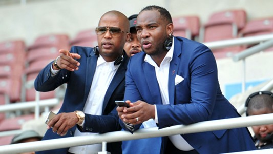 Jimmy Tau and Benni McCarthy
