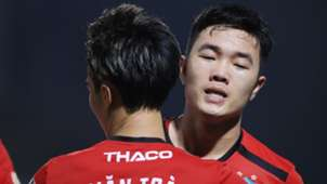 Luong Xuan Truong - Nguyen Van Toan Ha Noi FC vs HAGL Round 16 V.League 2019