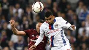 Rachid Ghezzal Dusko Tosic Lyon Besiktas UEFA Europa League 13042017