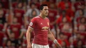 FIFA 18 Alexis Man Utd