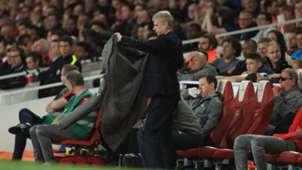 Arsene Wenger coat Arsenal