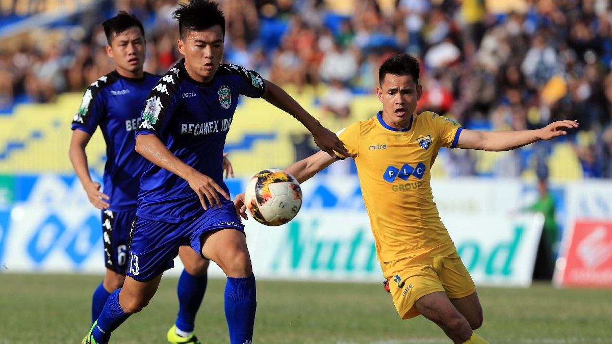 FLC Thanh Hoá B.Bình Dương V.League 2018