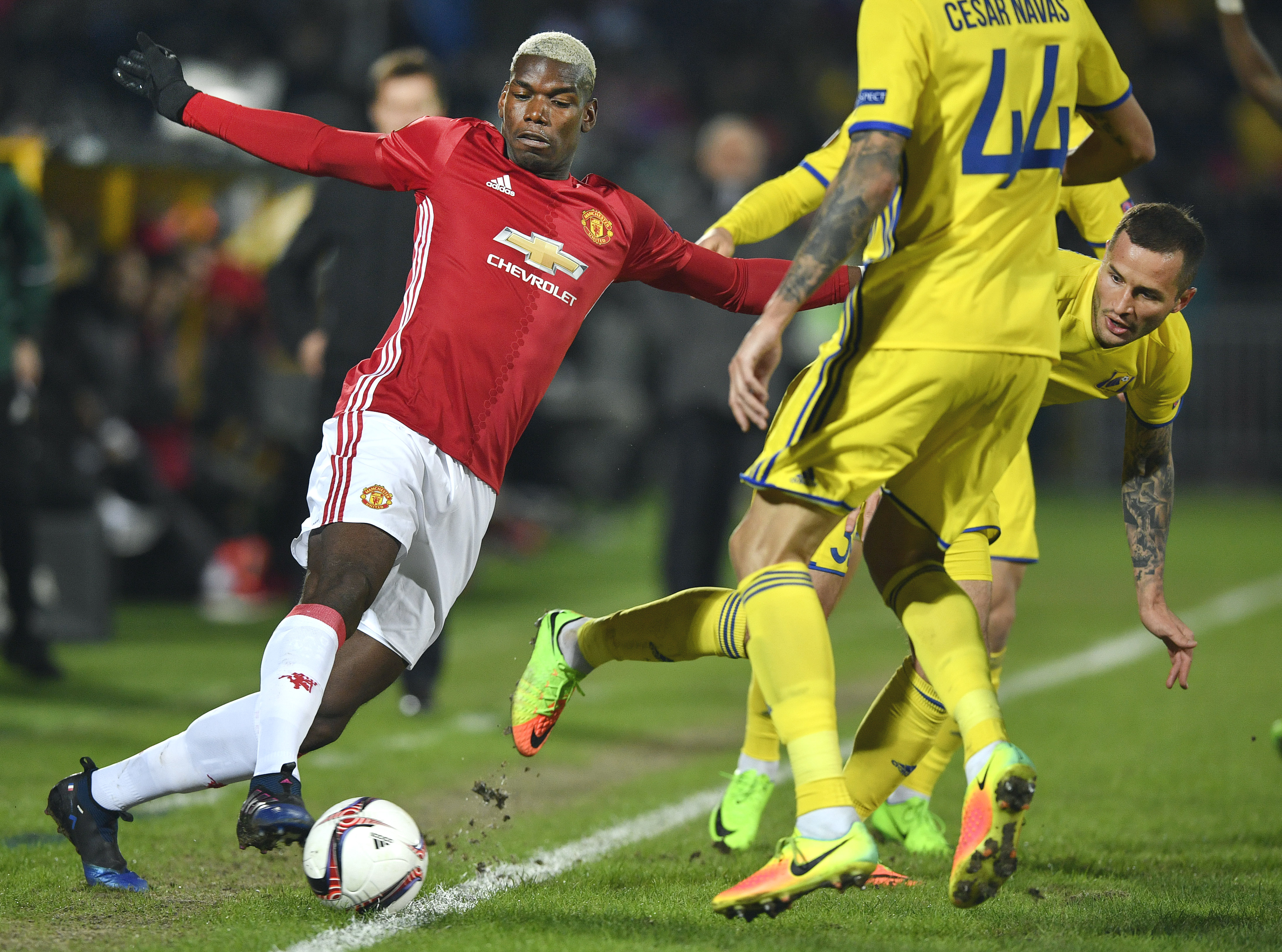 Paul Pogba Rostov Manchester United