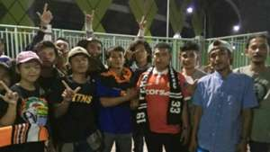 Perdamaian The Jakmania-Bobotoh di Bekasi