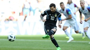 Lionel Messi penalty miss Argentina Iceland 2018 World Cup