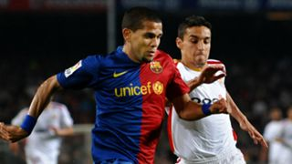 Dani Alves Jesus Navas Barcelona Sevilla