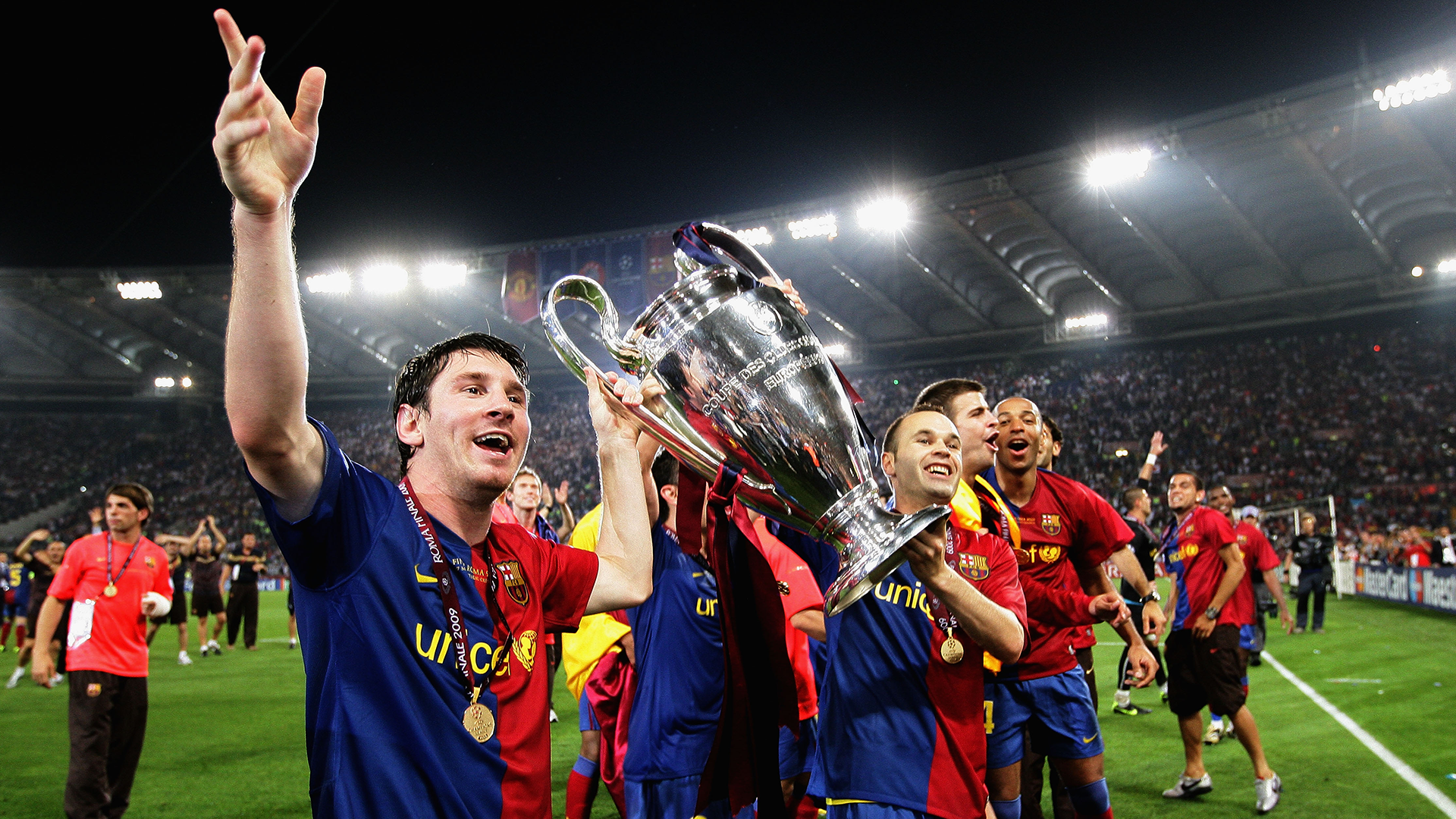 Barcelona 2009 Champions League winners
